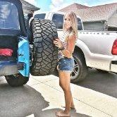 Bridget 2 Hot Jeep Woman